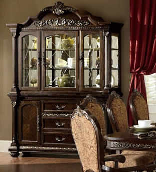 Homelegance Russian Hill Buffet & Hutch Available Online in Dallas Fort Worth Texas
