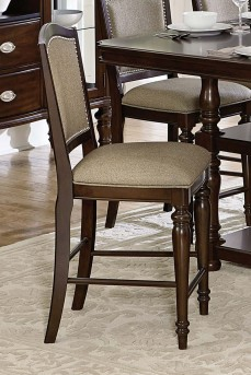 Homelegance Marston Dark Cherry Counter Height Chair Available Online in Dallas Fort Worth Texas