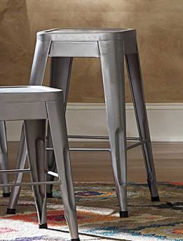 Homelegance Amara 24''Silver Barstool Available Online in Dallas Fort Worth Texas