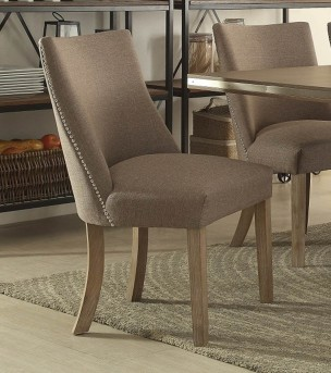 Homelegance Beaugrand Brown Side Chair Available Online in Dallas Fort Worth Texas