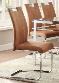 Homelegance Watt Brown Side Chair Available Online in Dallas Fort Worth Texas