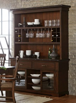 Homelegance Schleiger Buffet & Hutch Available Online in Dallas Fort Worth Texas