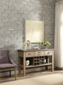 Homelegance Anna Claire Oak Server Available Online in Dallas Fort Worth Texas