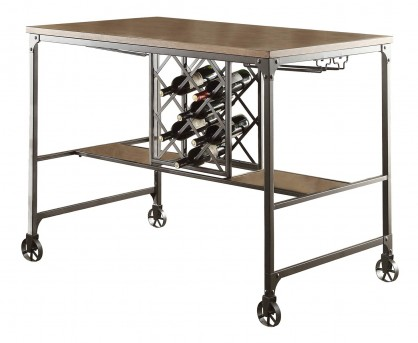 Homelegance Angstrom Black/Brown Counter Height Table Available Online in Dallas Fort Worth Texas