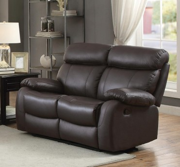 Homelegance Pendu Brown Double Reclining Loveseat Available Online in Dallas Fort Worth Texas