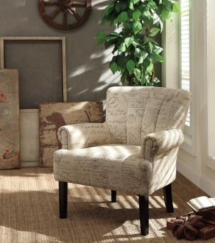 Homelegance Langdale Oatmeal Accent Chair Available Online in Dallas Fort Worth Texas