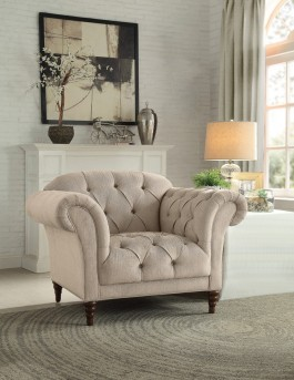 Homelegance St.Claire Brown Chair Available Online in Dallas Fort Worth Texas