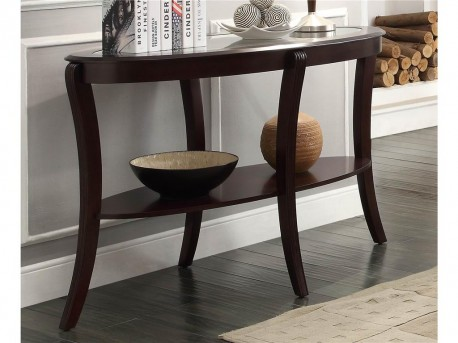 Homelegance Pierre Rich Espresso Sofa Table Available Online in Dallas Fort Worth Texas