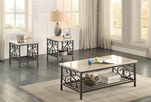 Homelegance Fairhope 3pc Coffee Table Set Available Online in Dallas Fort Worth Texas