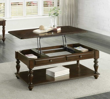 Homelegance Lovington Espresso Coffee Table Available Online in Dallas Fort Worth Texas