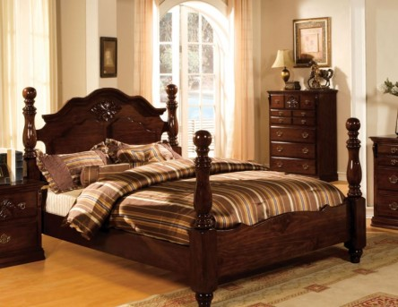 FOA Furniture Of America Tuscan Queen Bed Available Online in Dallas Fort Worth Texas