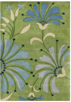 Hajra Light Green Small Rug Available Online in Dallas Fort Worth Texas