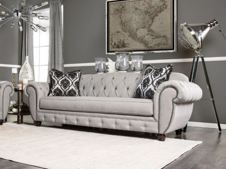 FOA Furniture Of America Viviana Sofa Available Online in Dallas Fort Worth Texas