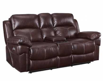 New Classic Warner Power Recline Loveseat Available Online in Dallas Fort Worth Texas