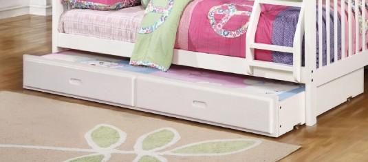 Coaster Chapman White Trundle/Storage Available Online in Dallas Fort Worth Texas