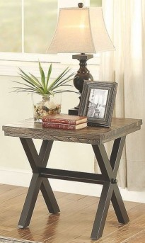 Romilly Grey End Table Available Online in Dallas Fort Worth Texas