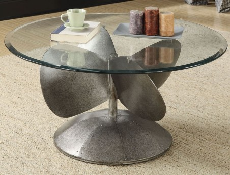 Coaster Samba Silver Coffee Table Available Online in Dallas Fort Worth Texas