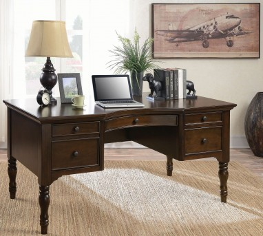 Coaster Desks Chestnut Writing Desk Available Online in Dallas Fort Worth Texas