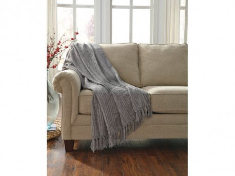 Ashley Noland Gray Throw Available Online in Dallas Fort Worth Texas