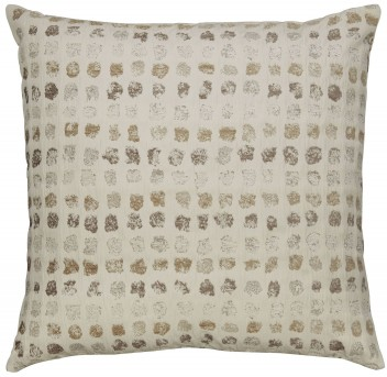 Ashley Whitehurst Cream & Taupe Pillow Available Online in Dallas Fort Worth Texas