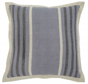 Striped Blue Pillow Set of 4 Available Online in Dallas Fort Worth Texas