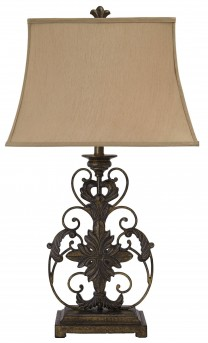Ashley Sallee Gold Metal Table Lamp Available Online in Dallas Fort Worth Texas
