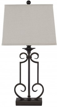 Ashley Ainslie Bronze Metal Table Lamp Available Online in Dallas Fort Worth Texas