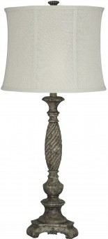 Ashley Alinae Antique Gray Poly Table Lamp Available Online in Dallas Fort Worth Texas