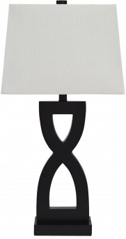 Ashley Amasai Black Poly Table Lamp Set of 2 Available Online in Dallas Fort Worth Texas