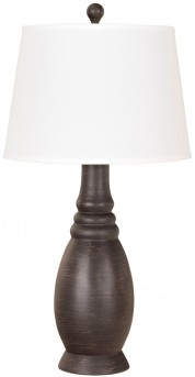 Ashley Sydna Antique Black Poly Table Lamp Set of 2 Available Online in Dallas Fort Worth Texas