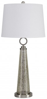 Ashley Arama Mercury Glass Table Lamp Available Online in Dallas Fort Worth Texas
