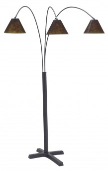 Ashley Sharde Black Metal Arc Floor Lamp Available Online in Dallas Fort Worth Texas