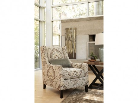 Ashley Wilcot Linen Accent Chair Available Online in Dallas Fort Worth Texas
