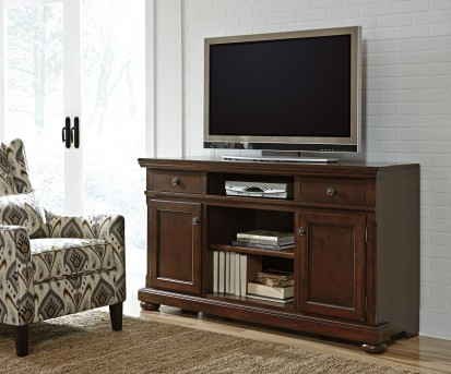 Porter Rustic Brown Extra Large TV Stand Available Online in Dallas Fort Worth Texas