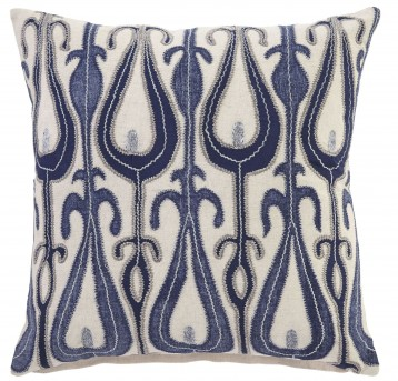 Arrowsic Blue Pillow Cover Set of 4 Available Online in Dallas Fort Worth Texas