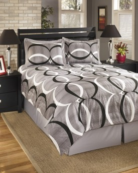 Ashley Primo Alloy Queen Comforter Set Available Online in Dallas Fort Worth Texas