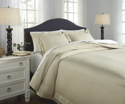 Ashley Chamness Sand Queen Duvet Cover Set Available Online in Dallas Fort Worth Texas