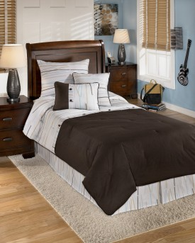 Ashley Stickly Multi Youth Twin Comforter Set Available Online in Dallas Fort Worth Texas