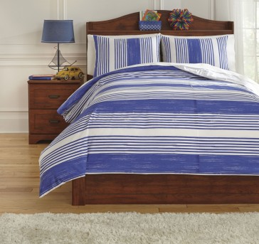 Ashley Taries Blue Full Duvet Cover Set Available Online in Dallas Fort Worth Texas