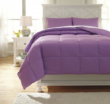 Ashley Plainfield Lavender Twin Comforter Set Available Online in Dallas Fort Worth Texas