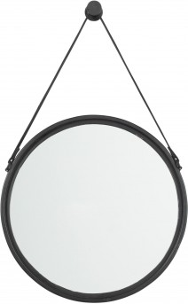 Ashley Dusan Black Round Accent Mirror Available Online in Dallas Fort Worth Texas