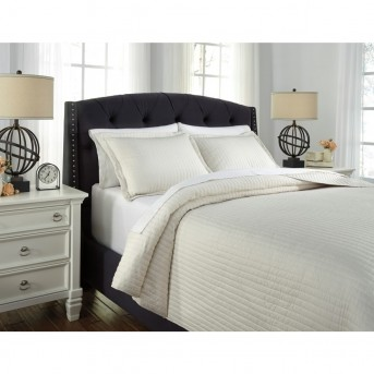 Ashley Raleda Buff King Coverlet Set Available Online in Dallas Fort Worth Texas