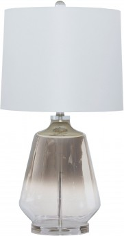 Ashley Jaslyn Silver Glass Table Lamp Available Online in Dallas Fort Worth Texas