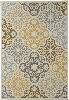 Lacy Brown/Gold Large Rug Available Online in Dallas Fort Worth Texas