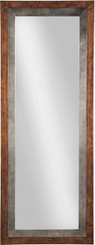 Ashley Niah Brown & Silver Accent Mirror Available Online in Dallas Fort Worth Texas
