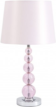 Ashley Letty Pink Crystal Table Lamp Available Online in Dallas Fort Worth Texas