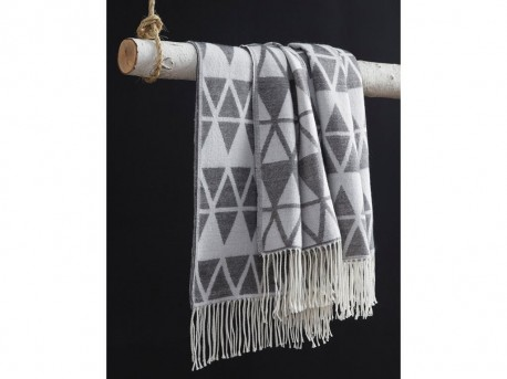 Ashley Noemi Slate Throw Available Online in Dallas Fort Worth Texas