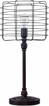 Ashley Javan Antique Black Metal Table Lamp Available Online in Dallas Fort Worth Texas