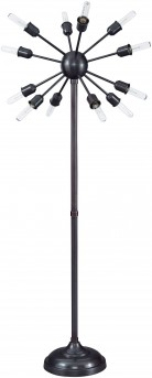 Ashley Amnon Bronze Metal Floor Lamp Available Online in Dallas Fort Worth Texas