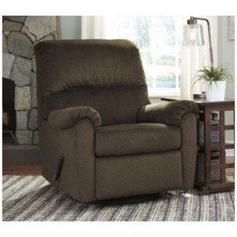 Ashley Bronwyn Cocoa Swivel Glider Recliner Available Online in Dallas Fort Worth Texas